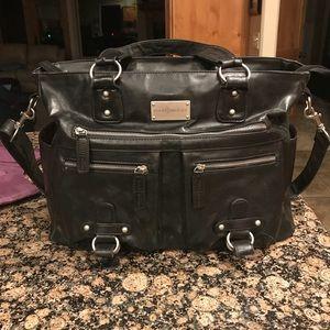 Kelly Moore- Black Libby Bag